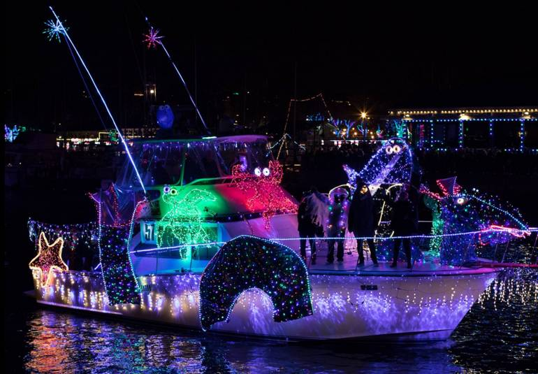 Dana Point Harbor Christmas Light Parade