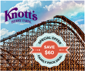 Knott's Berry Farm Tickets