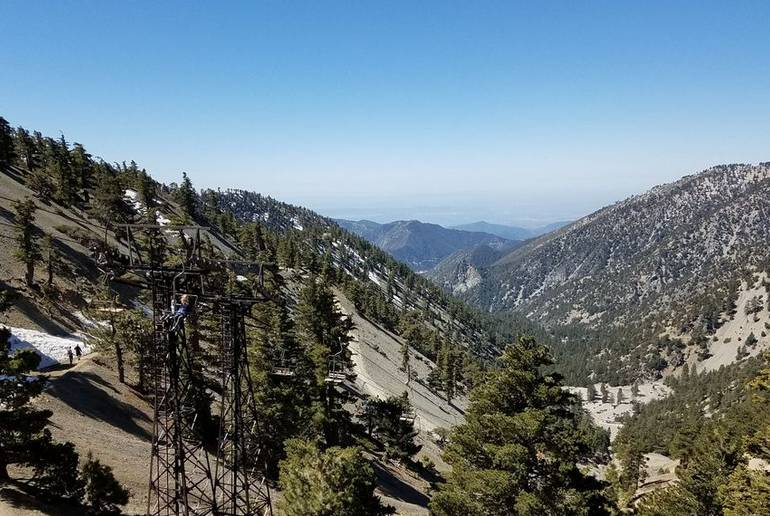 View from Mt Baldy Resort