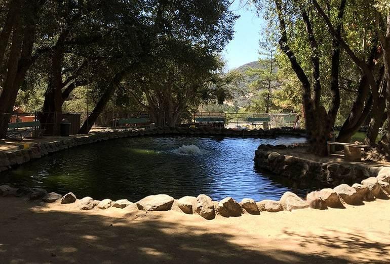 Mt Baldy Trout Pools