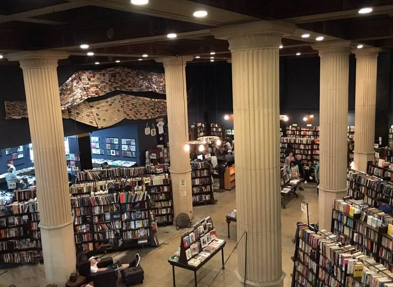 Last Bookstore Downtown Los Angeles