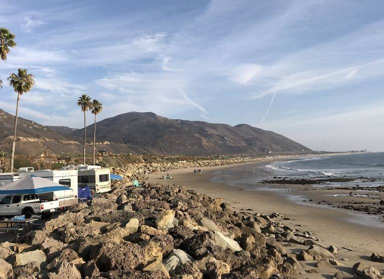 Southern California Beach Camping Best