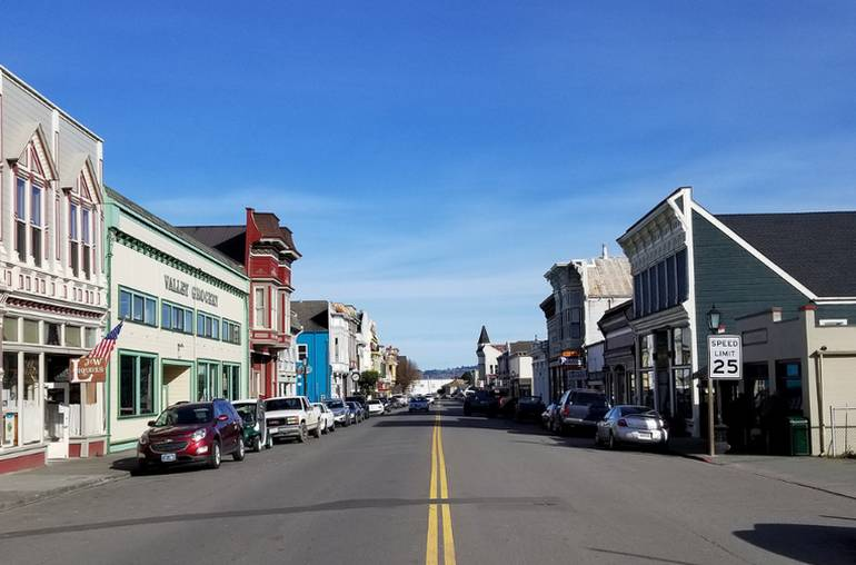 Main Street Ferndale California