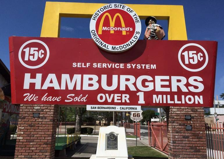 McDonald's Museum San Bernardino