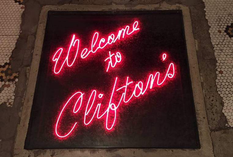 Clifton's Downtown Los Angeles
