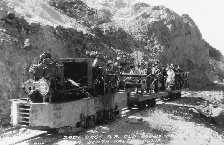 Ryan Mine Baby Gauge Railroad Death Valley