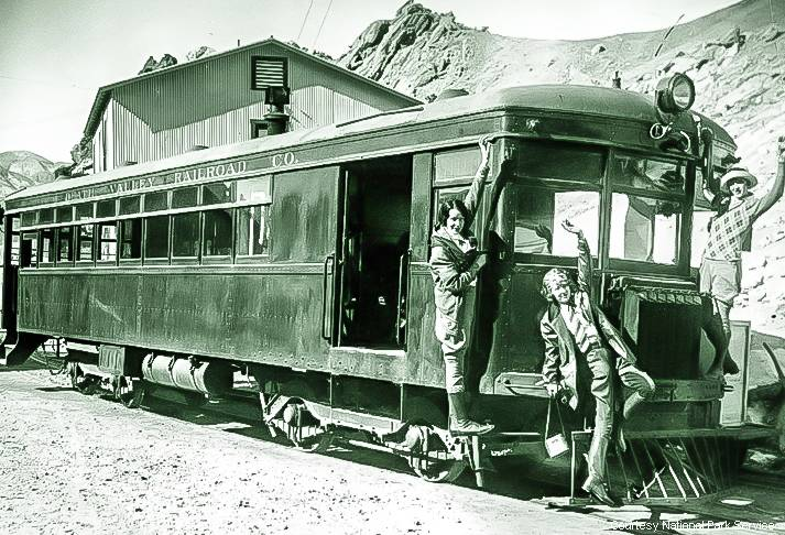 Death Valley Railroad Brill Car