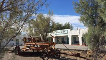 Death Valley Junction California Ghost Town