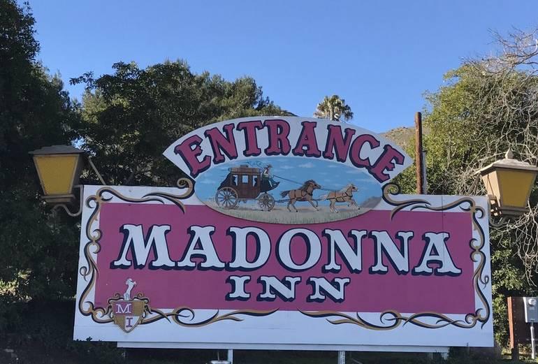 Entrance Madonna Inn San Luis Obispo