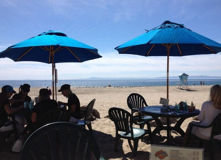 Shoreline Cafe Leadbetter Beach