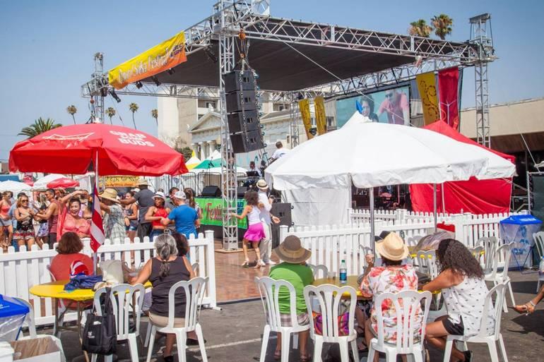 Oxnard Salsa Festival Food
