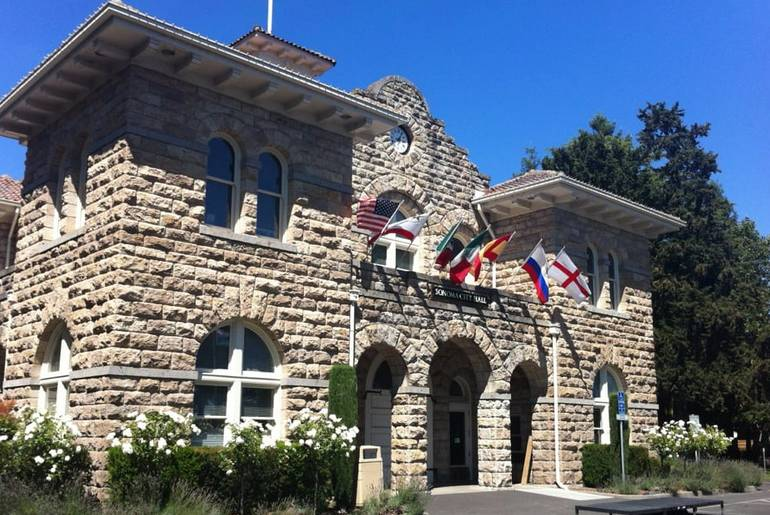 Historic Sonoma California City Hall