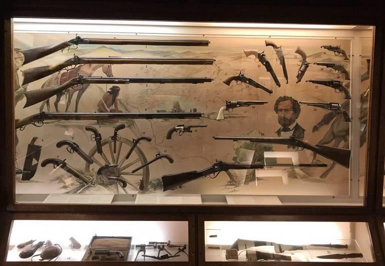 Antique Guns Nevada State Museum Carson City