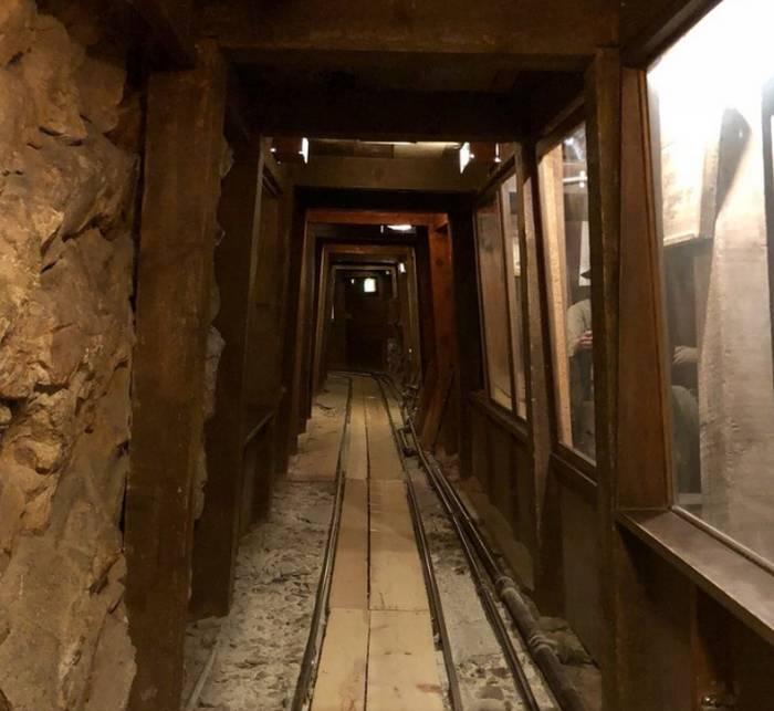 Nevada State Museum Carson Mine Exhibit