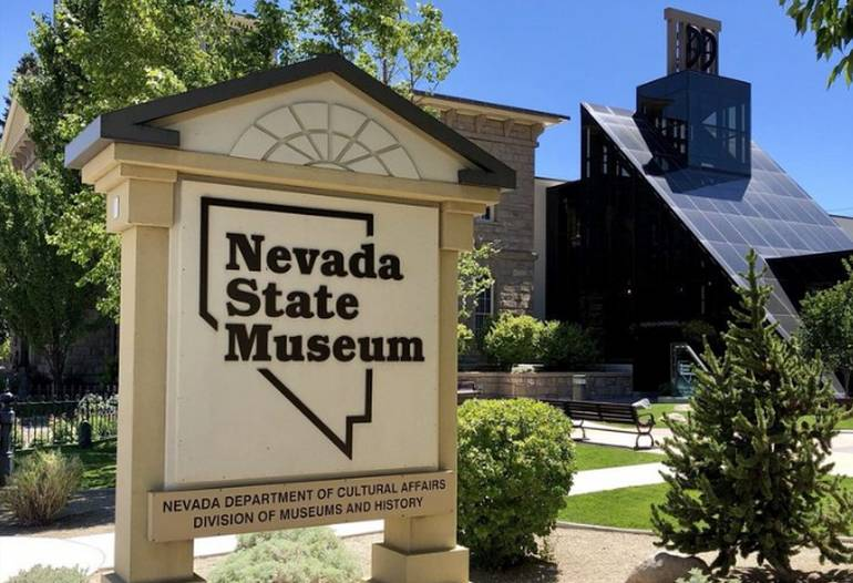 Nevada State Museum Carson City Entrance