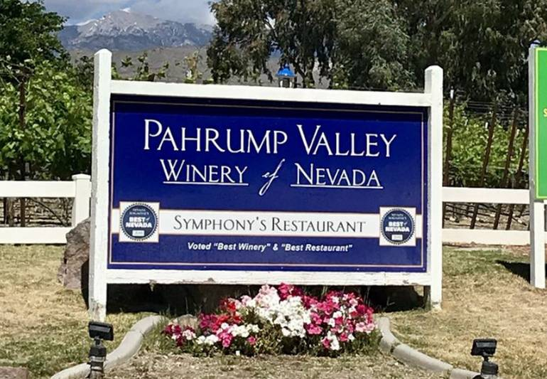 Pahrump Valley Winery Nevada