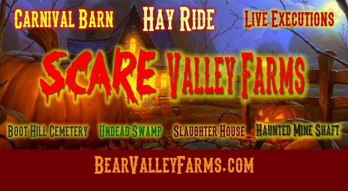 Scare Valley Farms Big Bear California