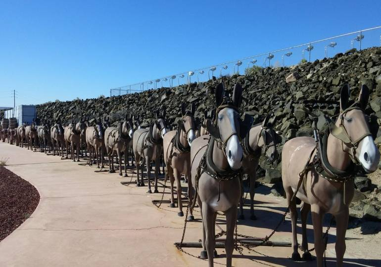 20 -Mule Team Borax Visitor Center Boron California