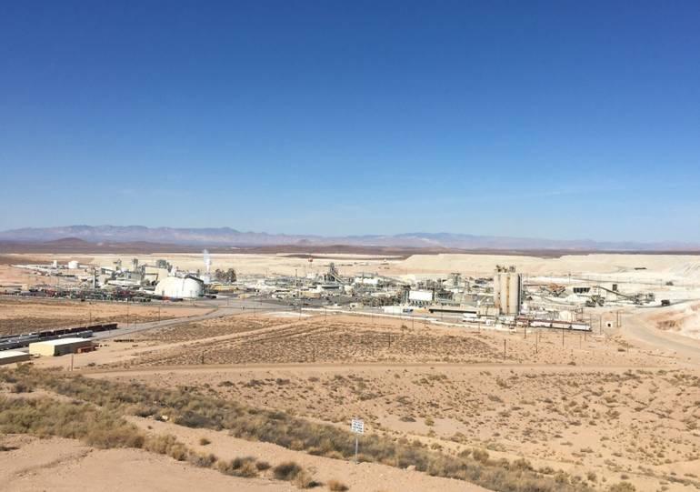 Rio Tinto Borax Processing Facility Boran California