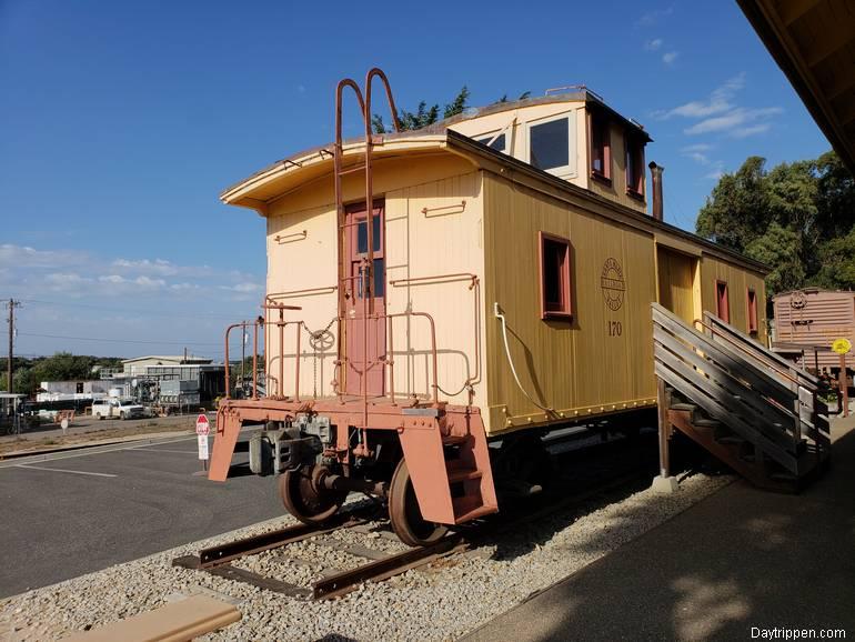 Oceano Train Depot 1907 Caboose