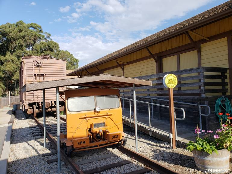 Oceano Train Depot Railway Motor Car