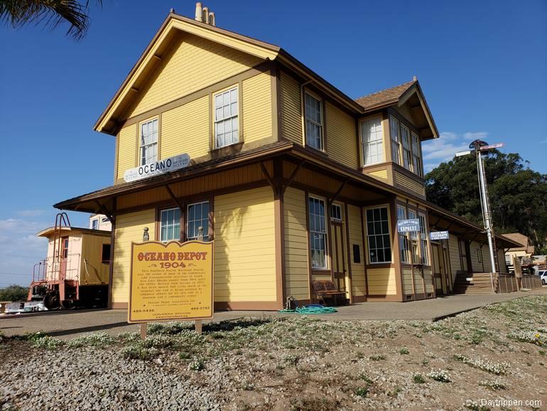 Oceano Train Depot and Railroad Museum Oceano California