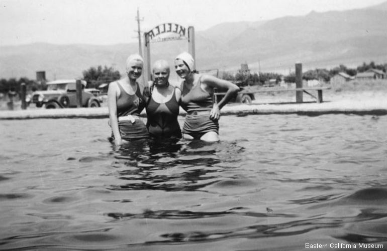 Keeler Swimming Pool 1930s