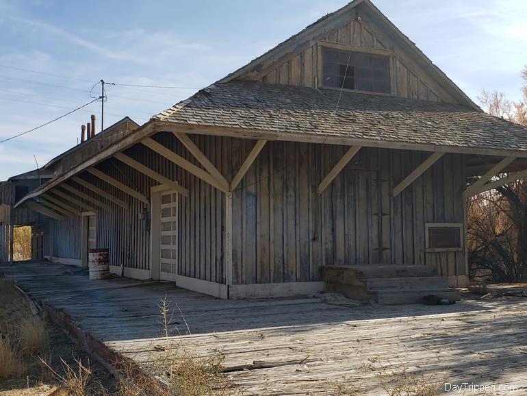 Keeler Train Depot Carson and Colorado Railroad 2018