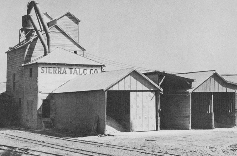Keeler Sierra Talc Company Mill1938