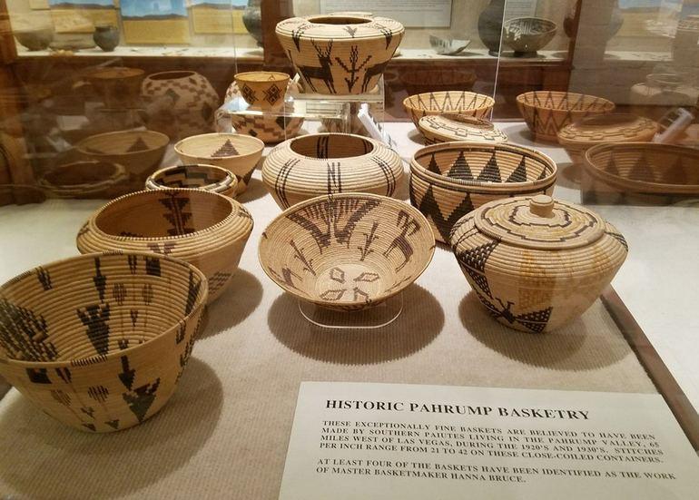 Historic Pahrump Basketry