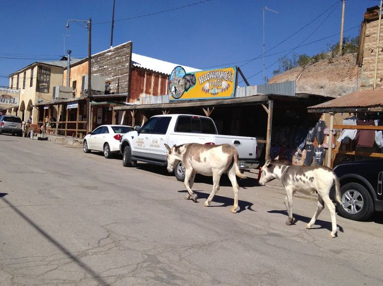 Oatman Ghost Town Route 66