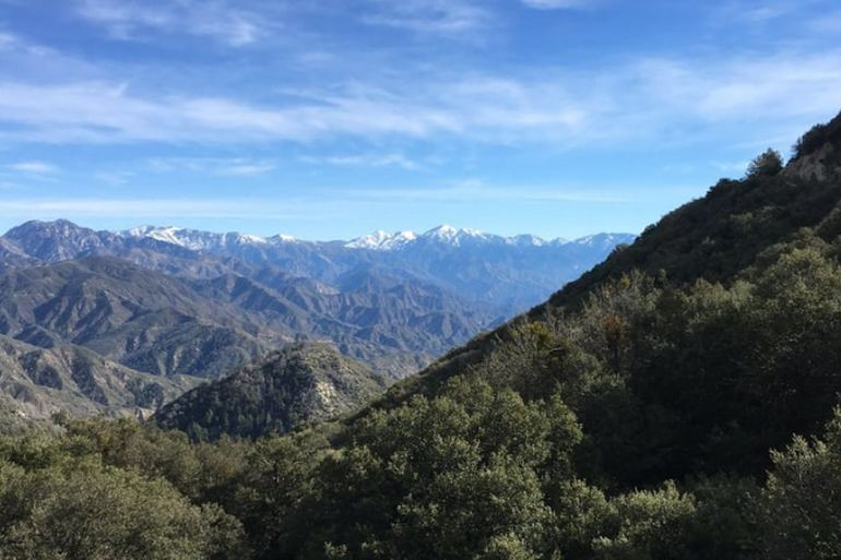 San Gabriel Mountains California