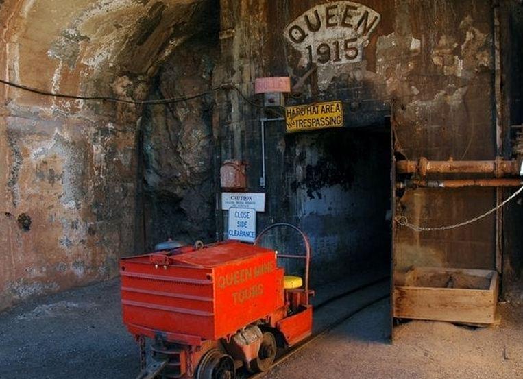 Main Portal Bisbee Queen Mine