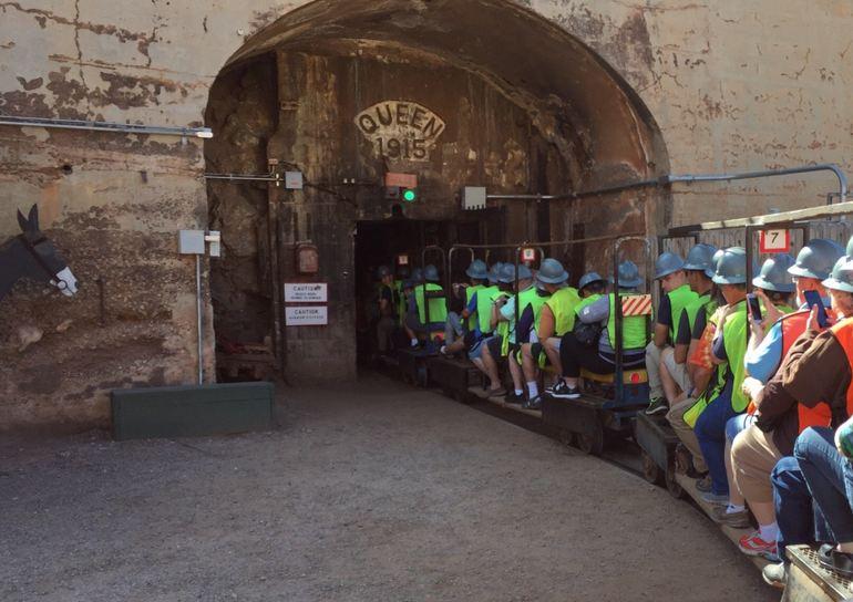 Mine Tram Bisbee Mine