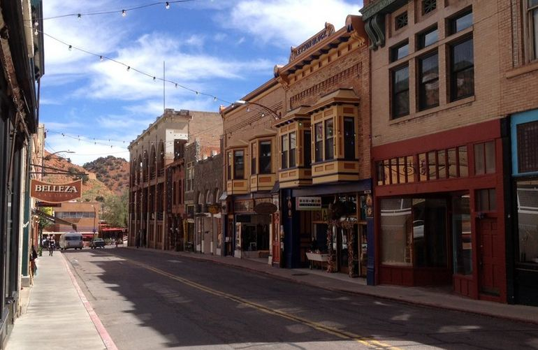 Tombstone Canyon Road Downtown Area