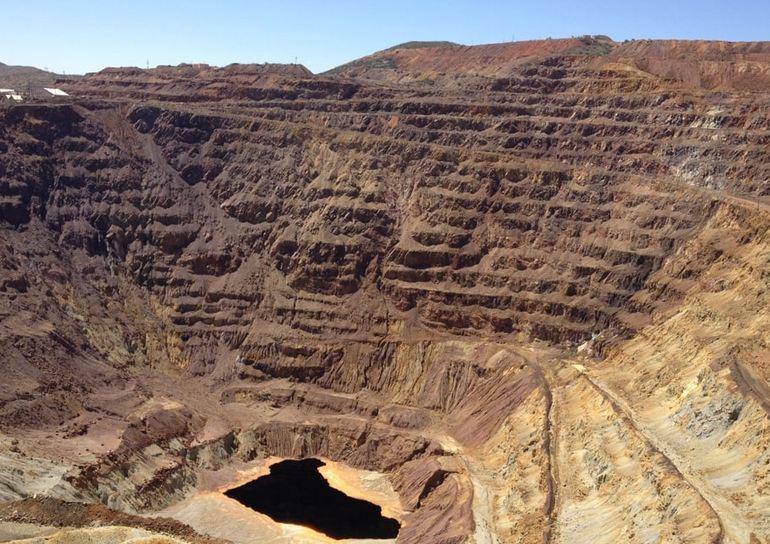 Lavender Pit Copper Mine Arizona