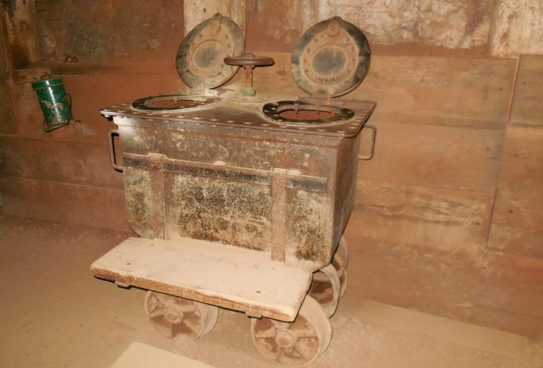 Miners Toilet Car