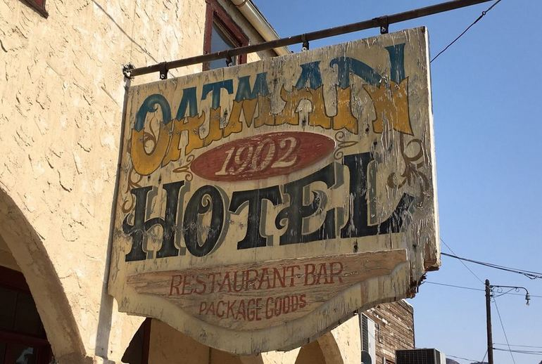 Oatman Hotel Arizona