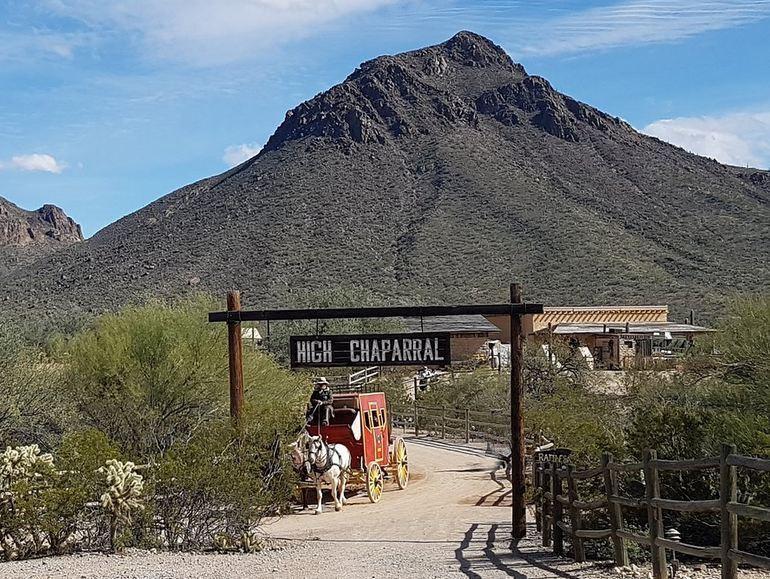 Getting To Old Tucson Arizona
