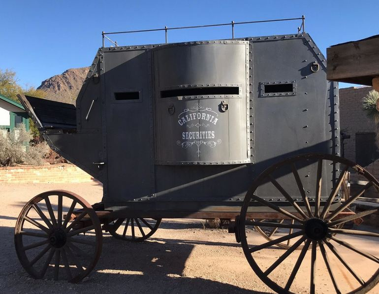 Armored Stagecoach