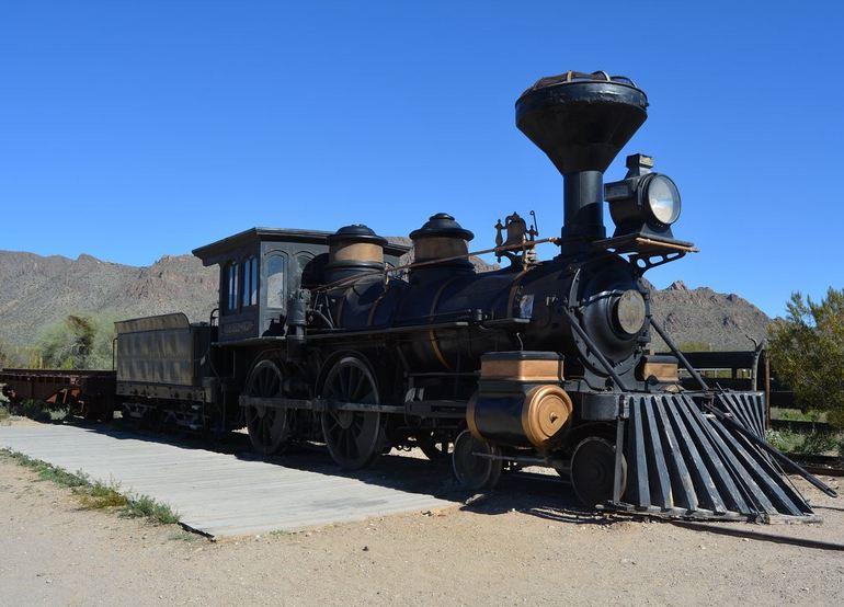 Reno Virginia & Truckee Locomotive