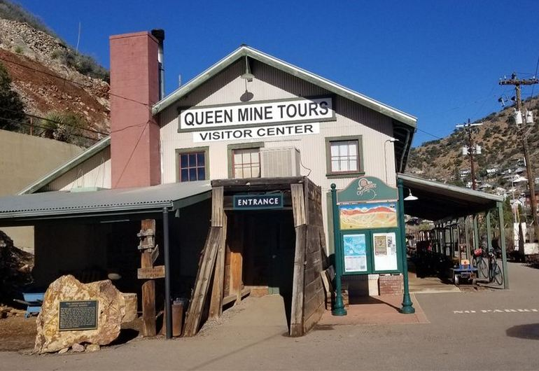 Queen Mine Yours Visitor Center