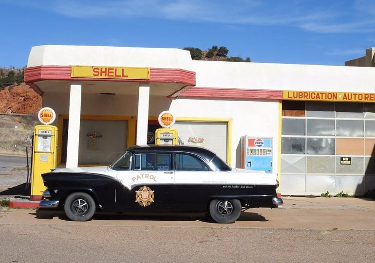 Classic Highway Patrol Car