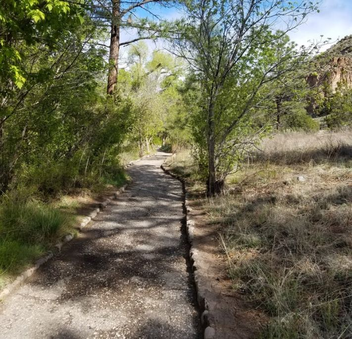 Bandelier Monument Trail