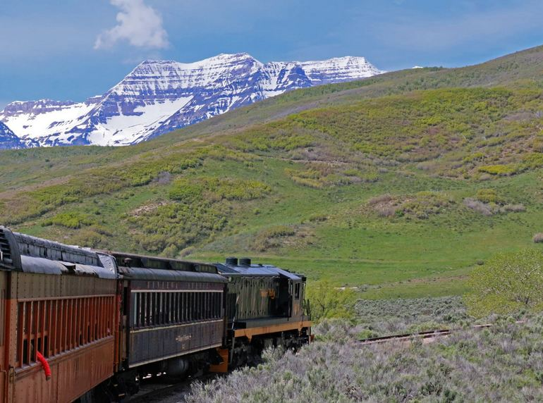 Provo Canyon Limited Excursion Train