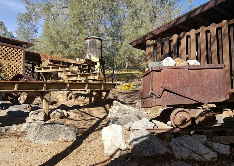 Gold Panning Area