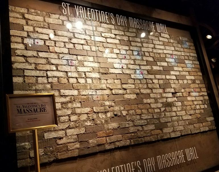 St. Valentine's Day Massacre Wall