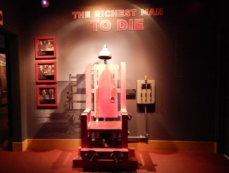 Electric Chair Mob Museum Las Vegas