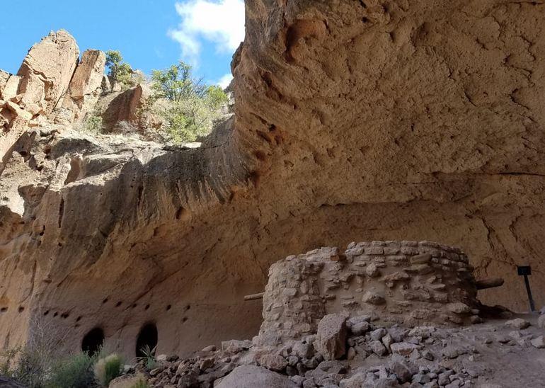 Bandelier Monument Cave Dwellings
