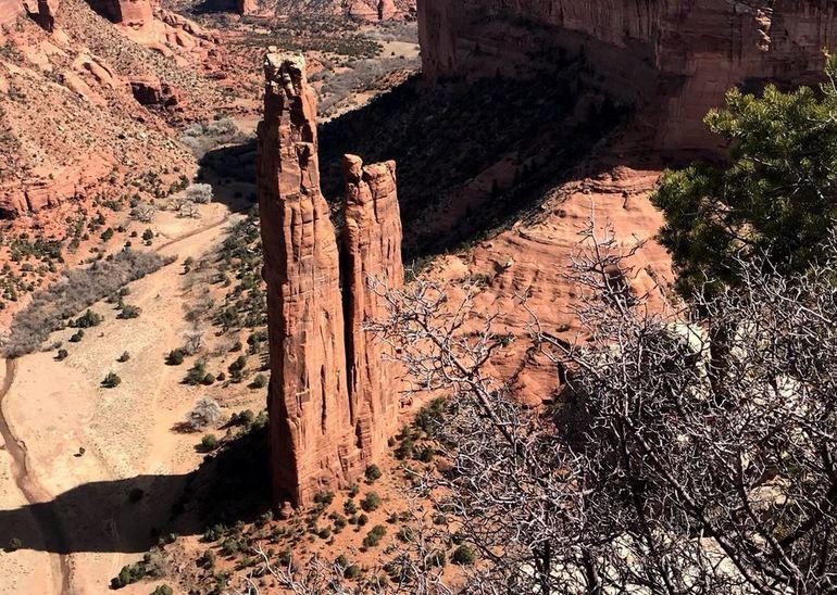 Spider Rock Pinnacle Arizona
